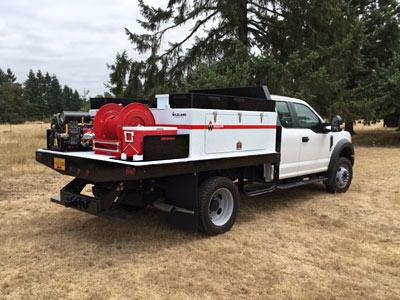 integrated slip on module firefighting equipment wildlands
