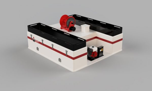 integrated firefighting slip on module high cargo wildland products