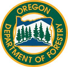 Oregon Forestry Douglas forest logo
